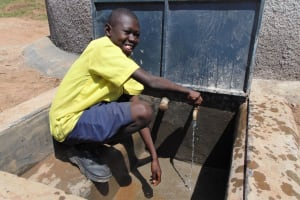 The Water Project: Kosiage Primary School -  Smiles At The Rain Tank
