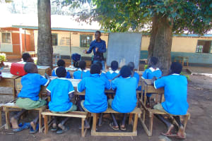 The Water Project: St. Joseph's Lusumu Primary School -  Training Begins