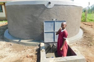 The Water Project: Mulwanda Mixed Primary School -  Thumbs Up For Clean Water