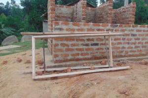 The Water Project: Kipchorwa Primary School -  Door Frames Ready For Fitting