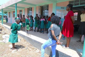 The Water Project: Ebukhayi Primary School -  Toothbrushing Session