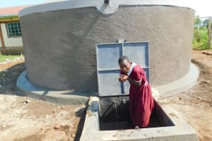 The Water Project: Mulwanda Mixed Primary School -  Fresh Drinks Any Time