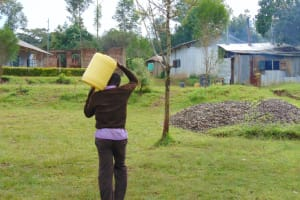 The Water Project: Friends Musiri Secondary School -  Carrying Water To School