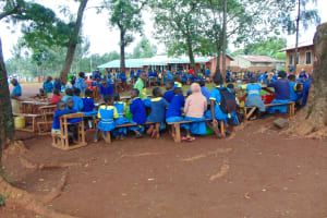 The Water Project: Kitagwa Primary School -  Students At Closing Ceremony