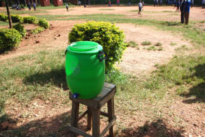 The Water Project: St. Martin's Primary School -  Handwashing Point
