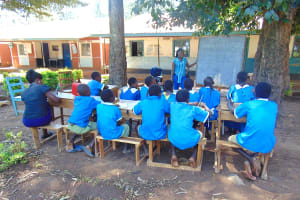 The Water Project: St. Joseph's Lusumu Primary School -  Training