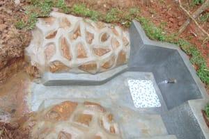 The Water Project: Bumira Community, Imbwaga Spring -  Completed Imbwaga Spring