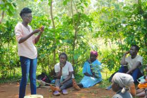 The Water Project: Shikhombero Community, Atondola Spring -  Trainer Elvin On Dental Hygiene