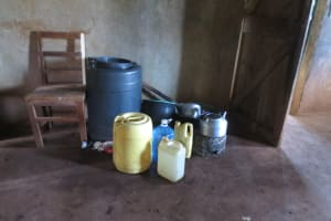 The Water Project: Mwikhupo Primary School -  Water Storage