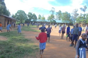 The Water Project: St. Martin's Primary School -  Students On The Playground