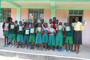 The Water Project: Ebukhayi Primary School -  All Smiles After Completion Training