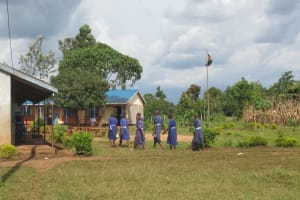 The Water Project: Mwikhupo Primary School -  Students On School Grounds