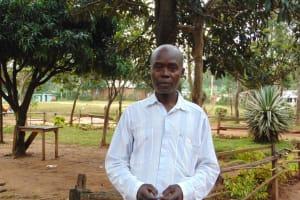 The Water Project: Kabinjari Primary School -  Deputy Head Teacher Mr Hadley Shimaka