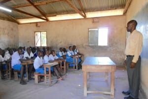 The Water Project: Gimarakwa Primary School -  Students In Class