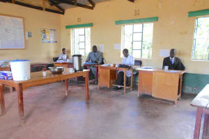 The Water Project: Friends School Manguliro Secondary -  Teachers In The Staffroom