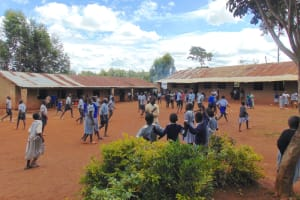 The Water Project: Saosi Primary School -  Students On School Grounds