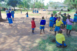 The Water Project: Shikomoli Primary School -  Students On School Grounds