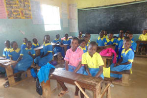 The Water Project: Isikhi Primary School -  Pupils In Class