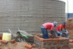 The Water Project: Banja Secondary School -  Building Access Point