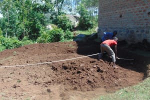 The Water Project: Kipchorwa Primary School -  Taking Measurements