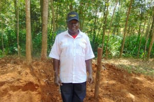 The Water Project: Shivembe Community, Murumbi Spring -  David Murumbi Spring Landowner