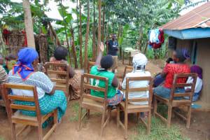 The Water Project: Kimarani Community, Kipsiro Spring -  A Reaction To The Training