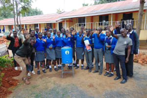 The Water Project: Banja Secondary School -  Training Complete