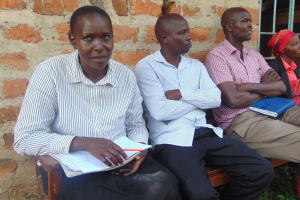 The Water Project: Kipchorwa Primary School -  Staff In Attendance