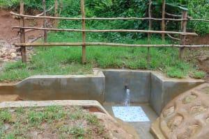 The Water Project: Kimarani Community, Kipsiro Spring -  Completed Kipsiro Spring