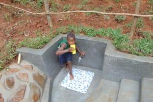 The Water Project: Bumira Community, Imbwaga Spring -  Slurp