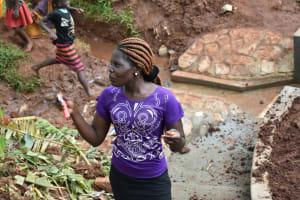 The Water Project: Busichula Community, Marko Spring -  Trainer Lynnah Akuku On Dental Hygine