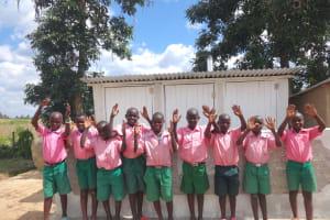 The Water Project: Mwichina Primary School -  Hooray New Latrines