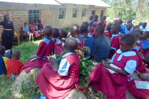 The Water Project: Kipchorwa Primary School -  Trainer Karen Introduces Herself