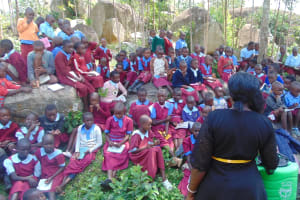 The Water Project: Kipchorwa Primary School -  Full House