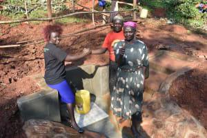 The Water Project: Shikhombero Community, Atondola Spring -  Handing Over Session At Atondola Spring