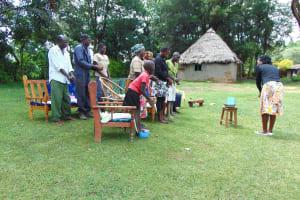 The Water Project: Buyangu Community, Mukhola Spring -  Handwashing