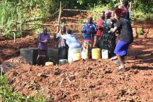 The Water Project: Shikhombero Community, Atondola Spring -  Dancing Celebration