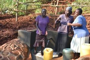 The Water Project: Shikhombero Community, Atondola Spring -  Dancing And Singing