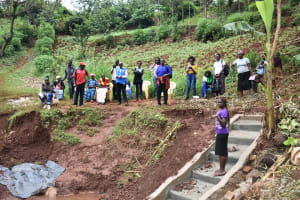 The Water Project: Busichula Community, Marko Spring -  Lynnah Leads Training On Site Management