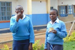 The Water Project: Kamimei Secondary School -  Dental Hygiene Volunteers