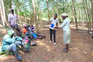 The Water Project: Shivembe Community, Murumbi Spring -  Handwashing