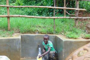 The Water Project: Kimarani Community, Kipsiro Spring -  Easy Filling Up