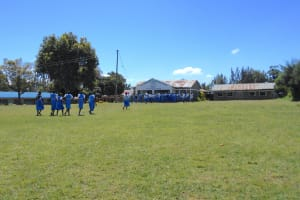 The Water Project: Gimarakwa Primary School -  Students Walk Back To Class From The Playground