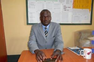 The Water Project: Friends School Manguliro Secondary -  Deputy Principal Mr John Wekesa