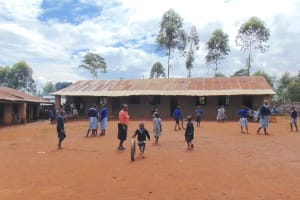 The Water Project: Saosi Primary School -  Sstudents Playing