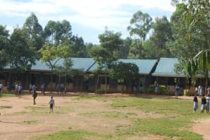 The Water Project: St. Martin's Primary School -  School Grounds