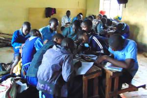 The Water Project: Kabinjari Primary School -  Students In Class