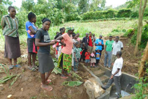 The Water Project: Imbinga Community, Imbinga Spring -  Learning About The Spring