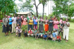 The Water Project: Imbinga Community, Imbinga Spring -  Smiles For Completing Training