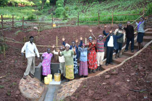 The Water Project: Busichula Community, Marko Spring -  Celebrations At The Spring